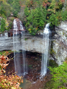 Fall Creek Falls.  All the rain made for some spectacular waterfalls.