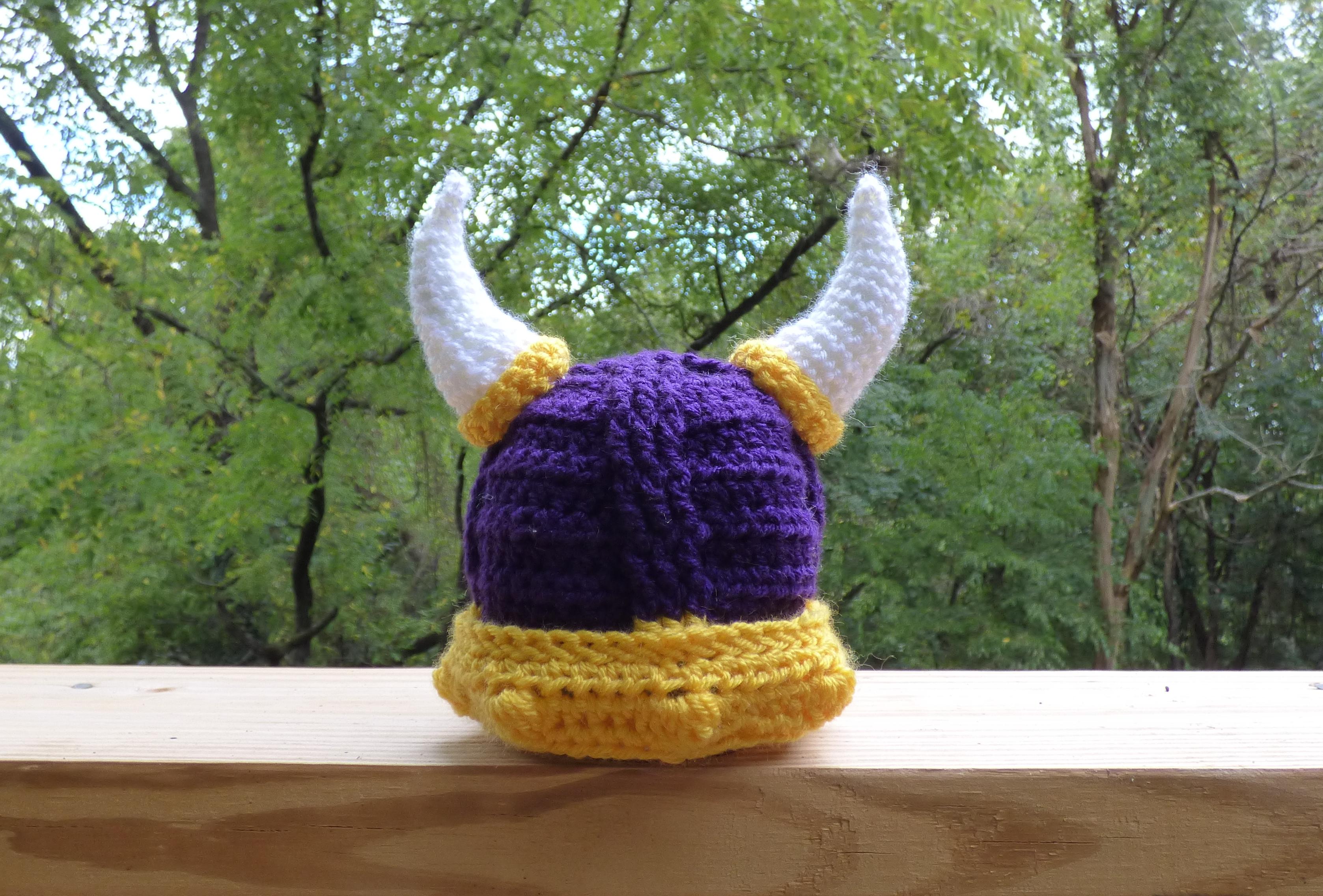 Baby Viking Hat For Jennifer Abbycrafty
