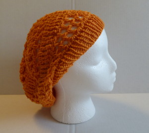 Chelsea Summer Hat - Side - Carrot