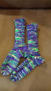 Purple Socks 2