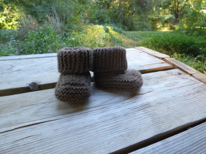 Oh Baby! Booties by DoubleDiamondKnits