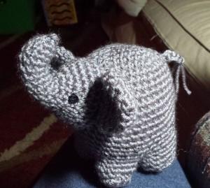 amigurumi elephat