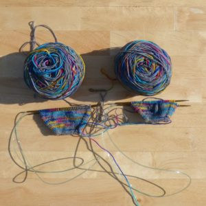 Haute Knit Yarns Bonfire Sock
