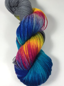 Jimmy Sock HauteKnit Yarn Grey Bonfire