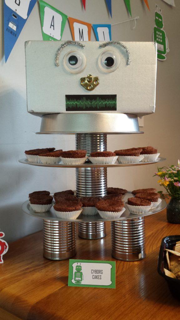 20170508 Robots Cyborg Cakes
