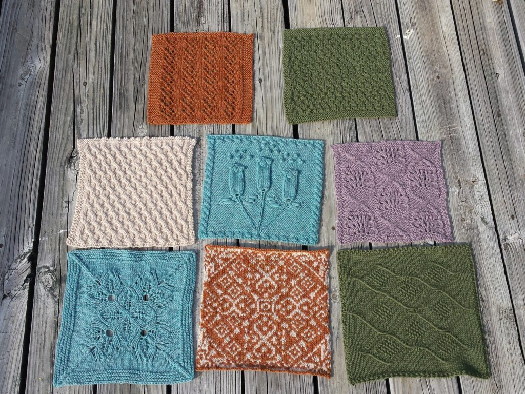 Knitterati Afghan Blocks through 11