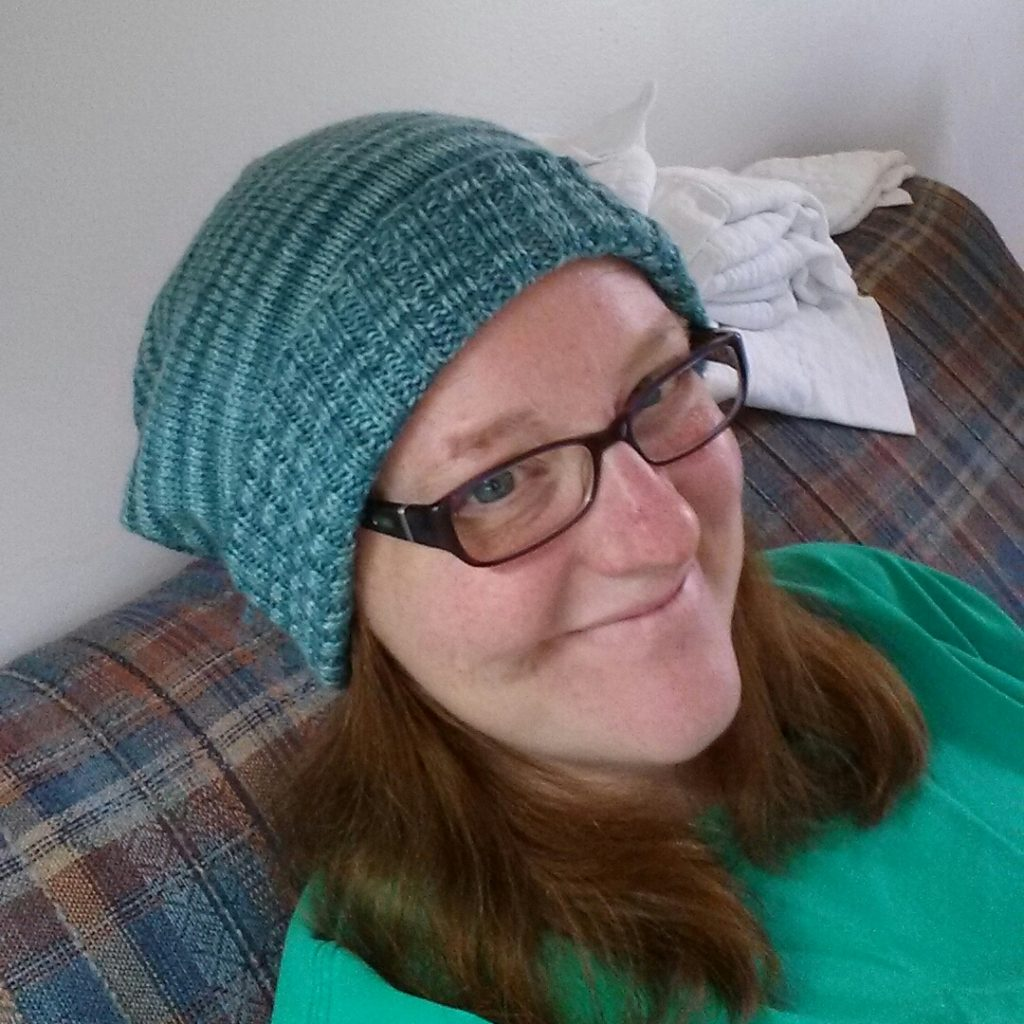 blue sockhead hat