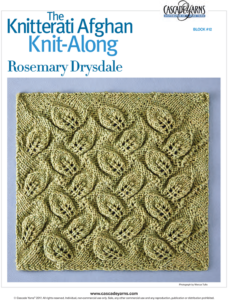Knitterati block 12